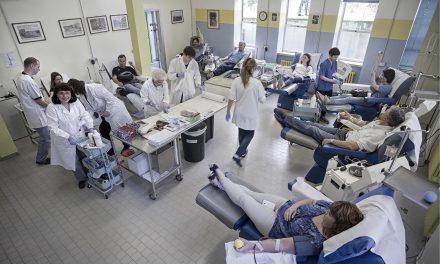 Donazione di sangue, sezione AVIS di Mirandola