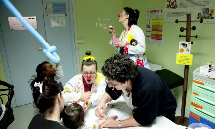 Clown dottori, reparto pediatria