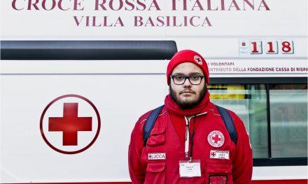 Volontari della Croce Rossa Italiana e  Protezione civile