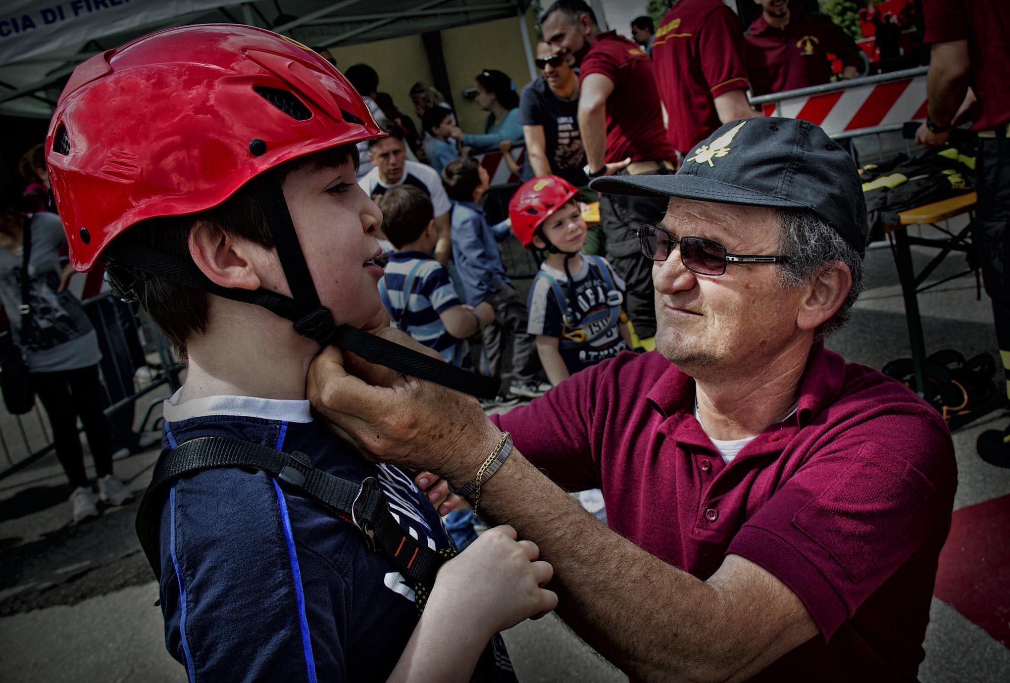 0029 pompieropoli esercitazioni antincendio bambini 2 - Pompieropoli, esercitazione antincendio con i bambini