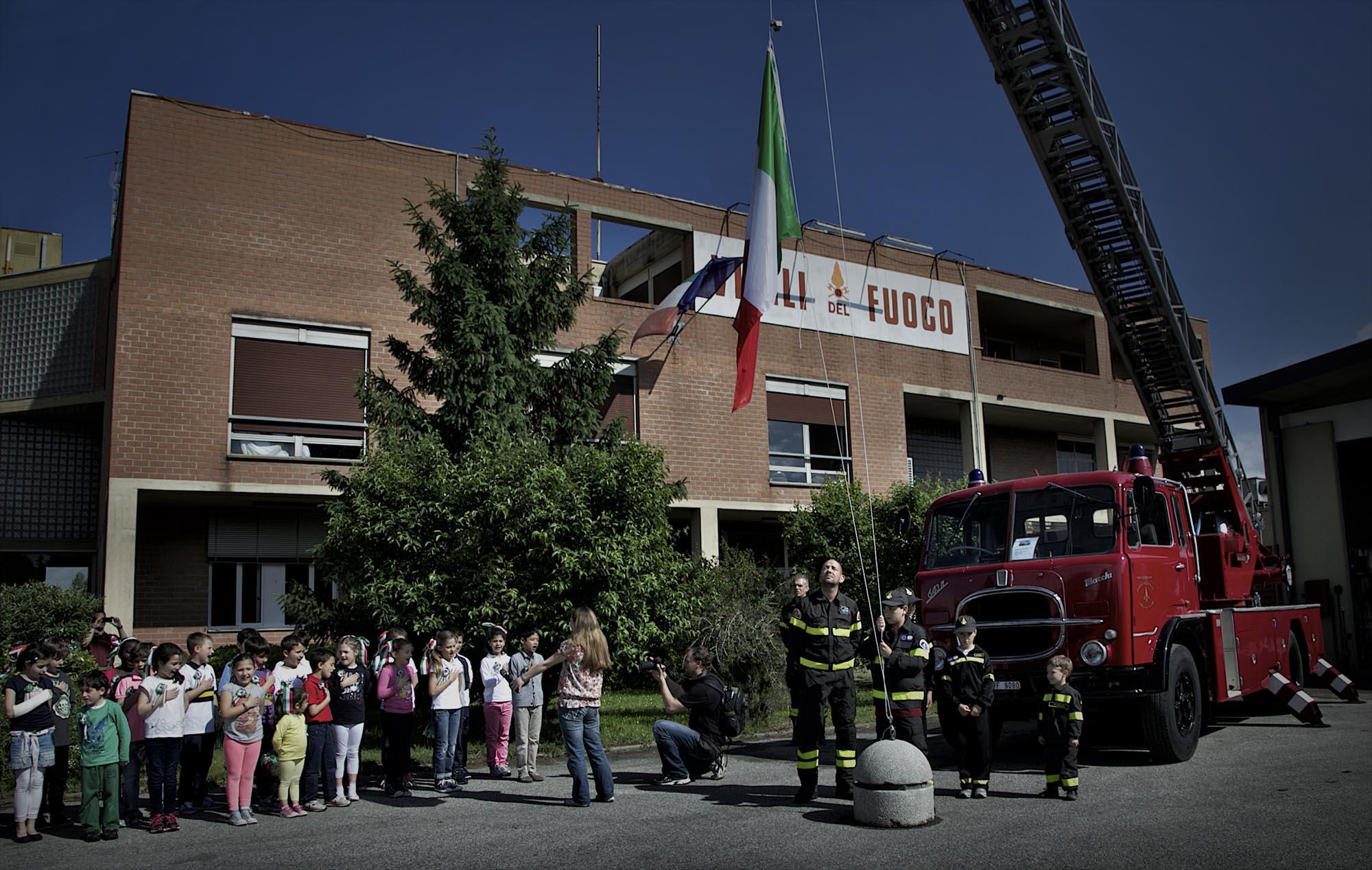 0029 pompieropoli esercitazioni antincendio bambini 6 - Pompieropoli, esercitazione antincendio con i bambini