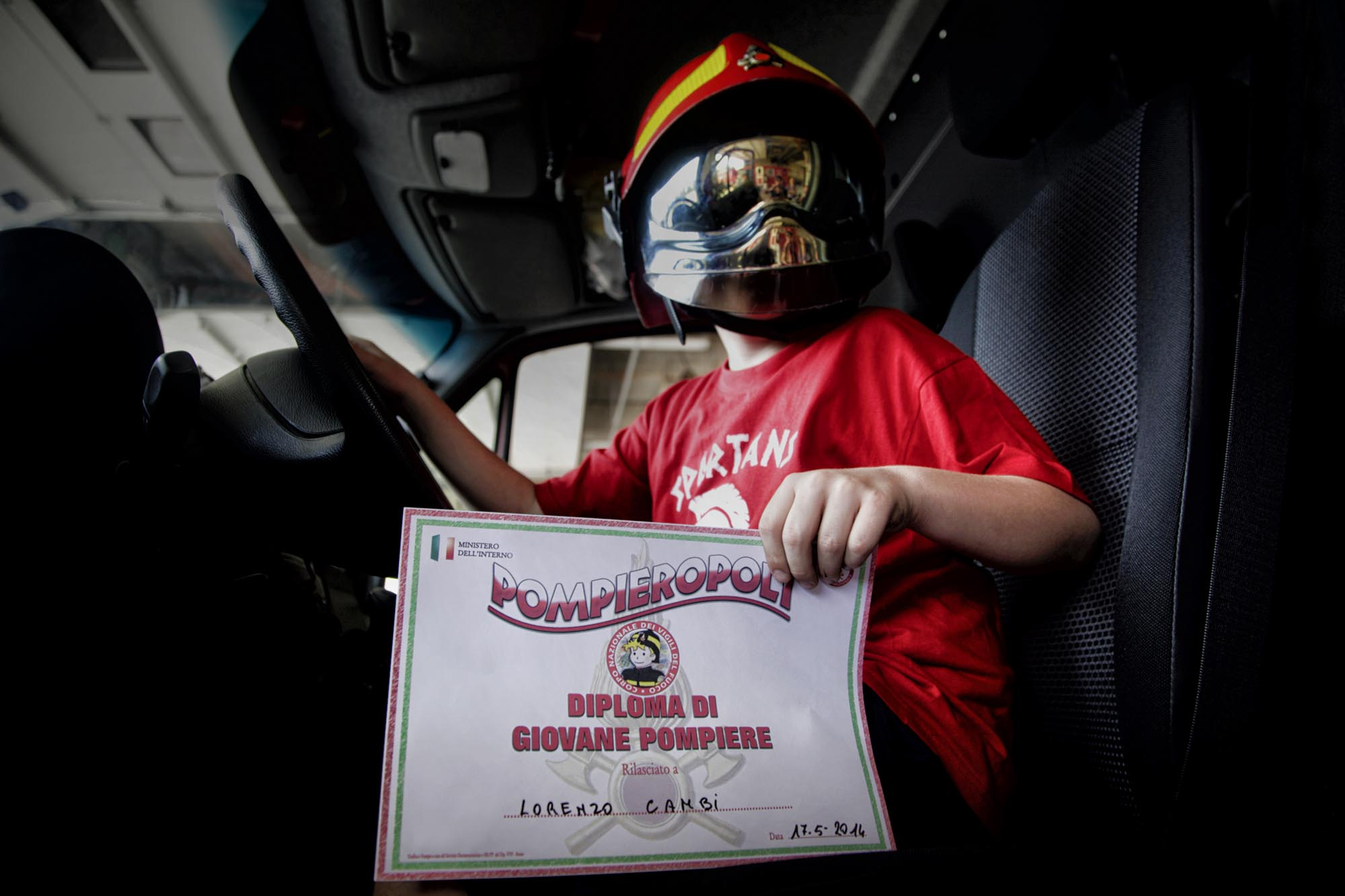 0029 pompieropoli esercitazioni antincendio con bambini - Pompieropoli, esercitazione antincendio con i bambini