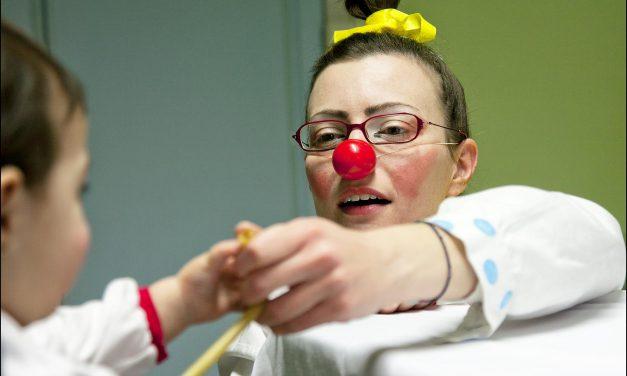 Clown dottori, reparto pediatria