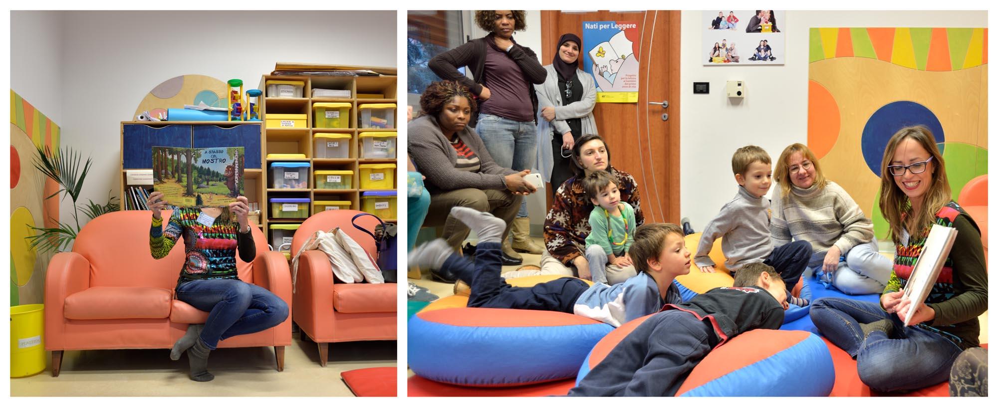 """0106 Laboratorio letture animate bambini - Laboratorio """"Nati per leggere"""""""