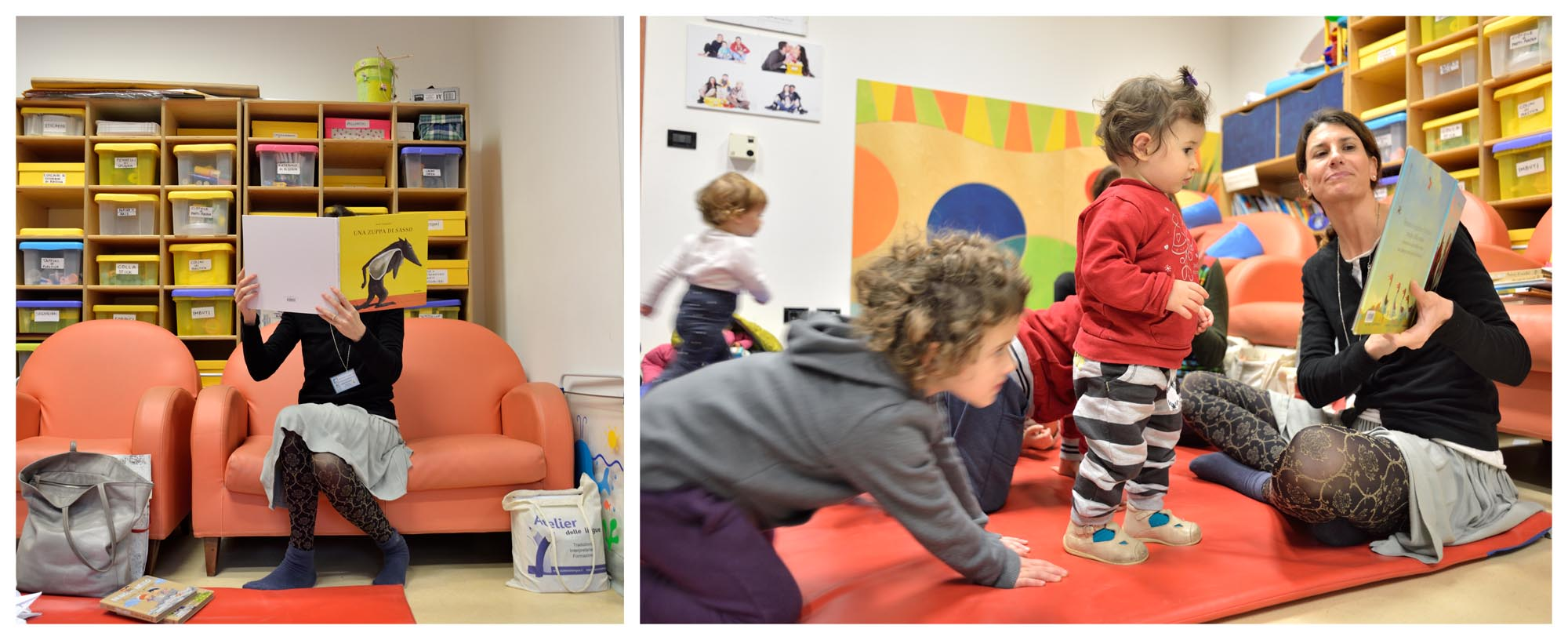 """0106 Laboratorio letture bambini - Laboratorio """"Nati per leggere"""""""