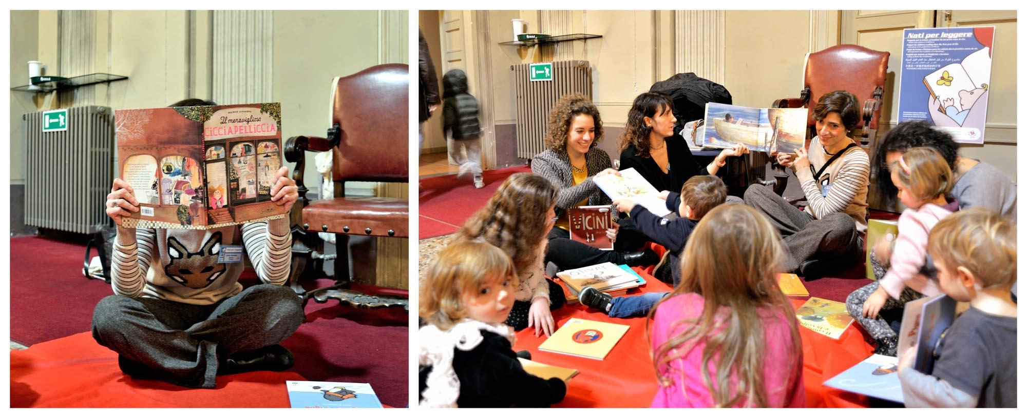 """0106 laboratorio lettura bambini 2 - Laboratorio """"Nati per leggere"""""""