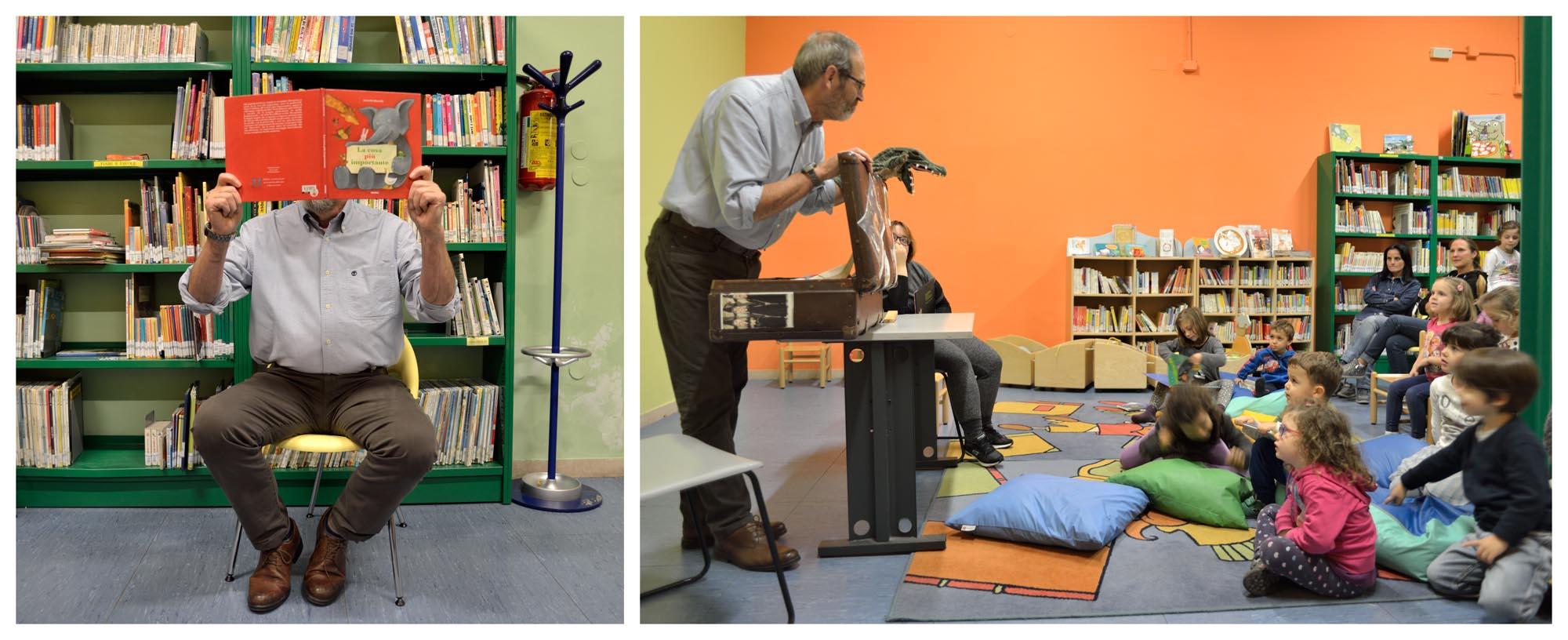 """0106 letture animate bambini - Laboratorio """"Nati per leggere"""""""