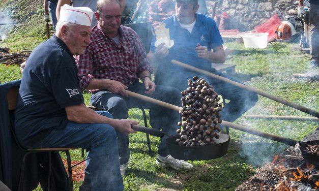 Festa delle castagne a Cascio