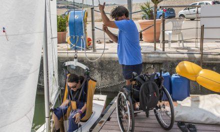 Riabilitazione in mare, liberi nel vento
