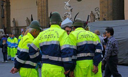 Volontari per l'accoglienza di Papa Francesco