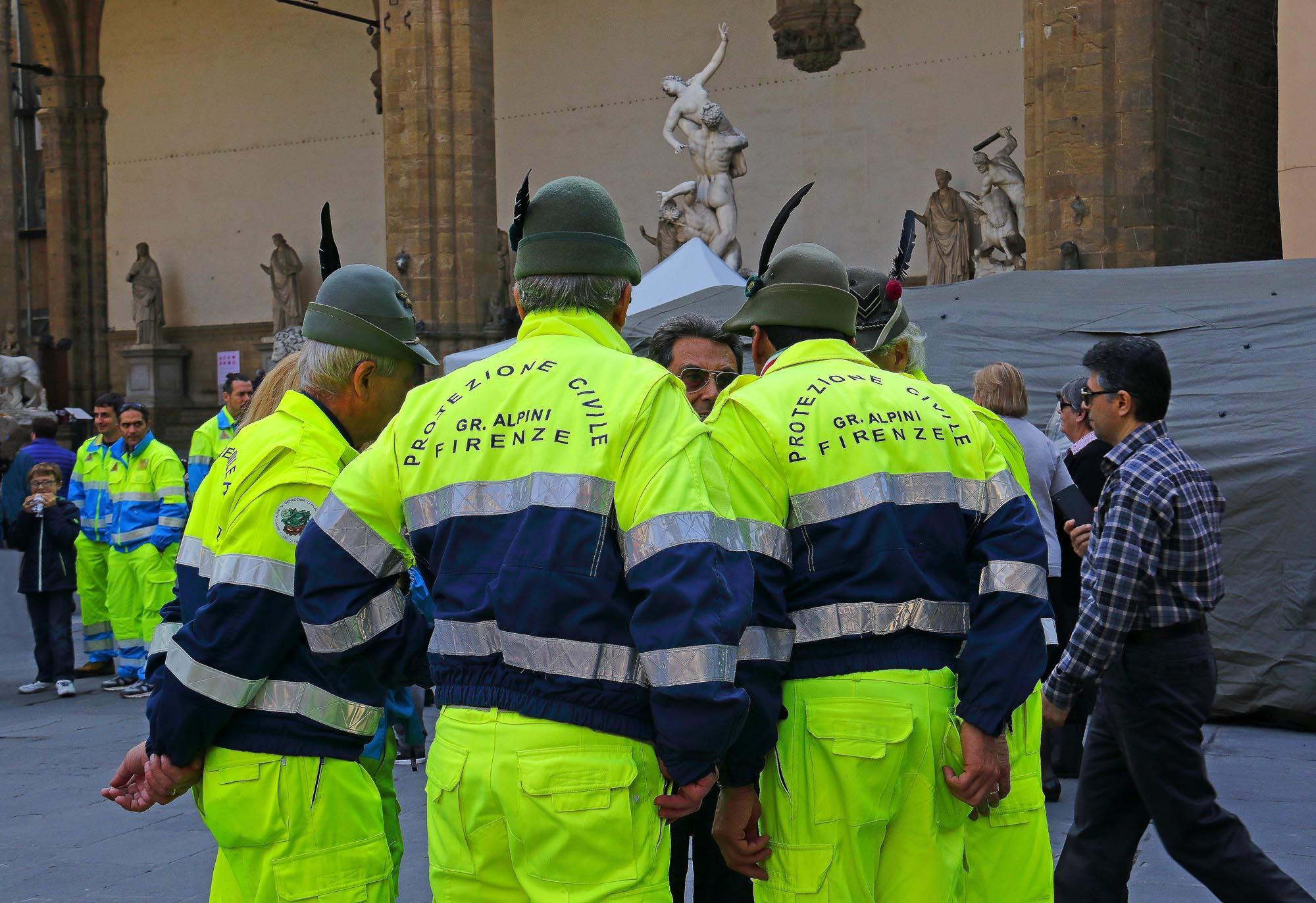 0244 Volontari per laccoglienza 1 - Volontari per l'accoglienza di Papa Francesco