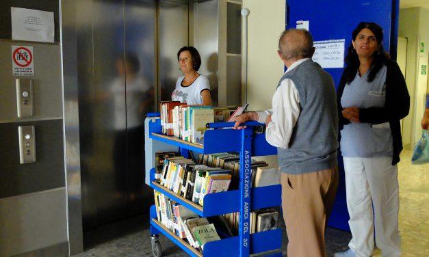 Biblioteca per i malati in ospedale