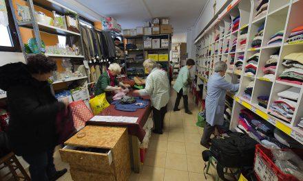 Raccolta indumenti usati , la boutique