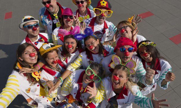 Clown di corsia, sorriso terapia del gruppo VIP