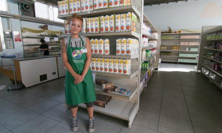 Distribuzione alimenti e indumenti, emporio portobello
