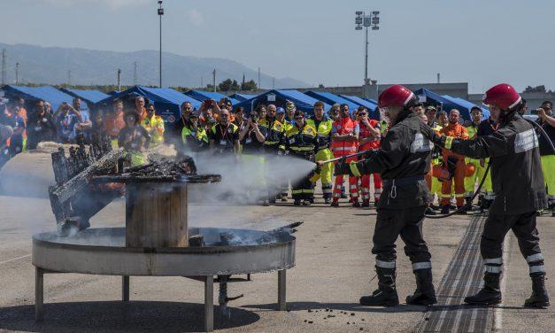 Esercitazioni protezione civile, prove tecniche