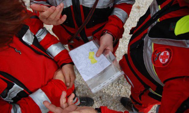 Addestramento unità cinofile Croce Rossa