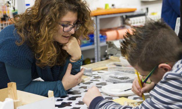 Laboratorio per bambini al Centro Babilonia