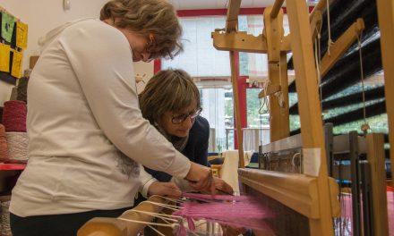 Laboratorio tessile, i passi di Penelope