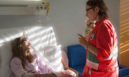 Volontari in pediatria, i magiocolieri