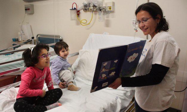Assistenza malati in ospedale, le favole della buonanotte